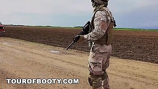 TOUR OF BOOTY - American Soldiers In The Middle East Negotiate Sex Using Goat As Payment